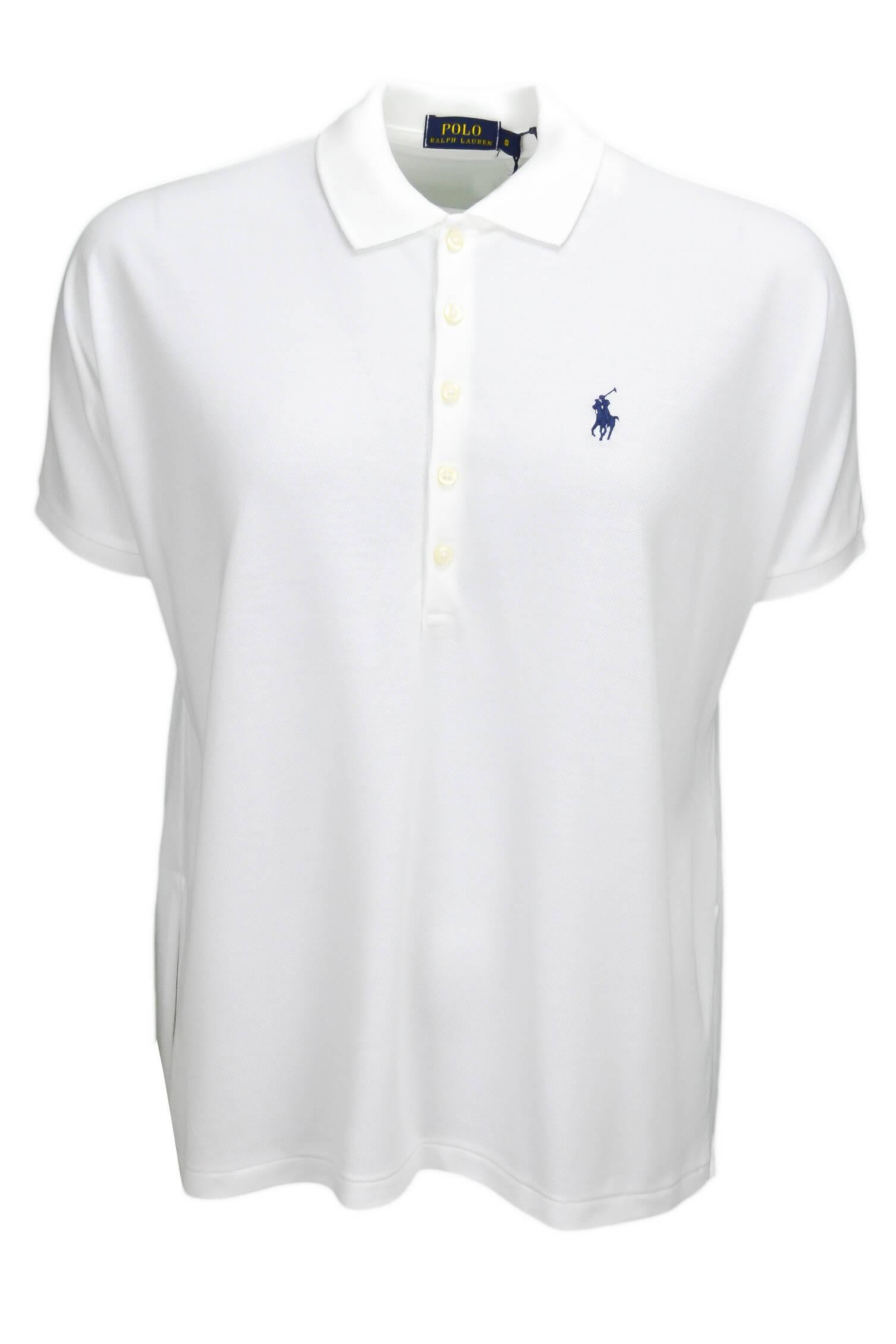 Polo Ralph Lauren ample blanc pour femme Toujours au meilleur prix !