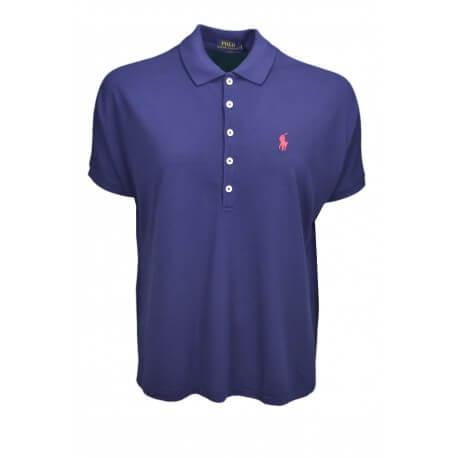 Polo Ralph Lauren ample bleu marine pour femme