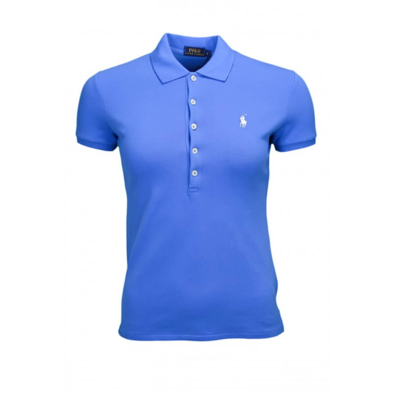 Polo Ralph Lauren Julie 5 boutons bleu pour