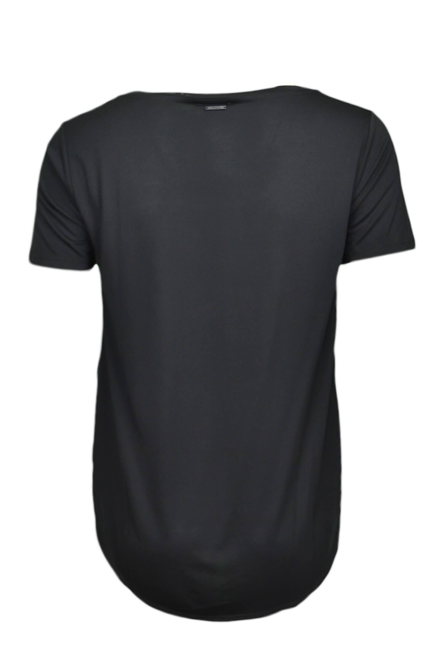 Au Toujours Dégagé T Noir Col Rond Pour Shirt Ralph Femme Lauren rdBCoWxe