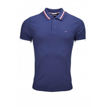 Polo Tommy Hilfiger Dénim bleu marine pour homme