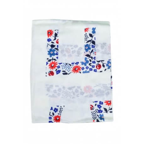 Foulard Tommy Hilfiger Floral blanc pour femme