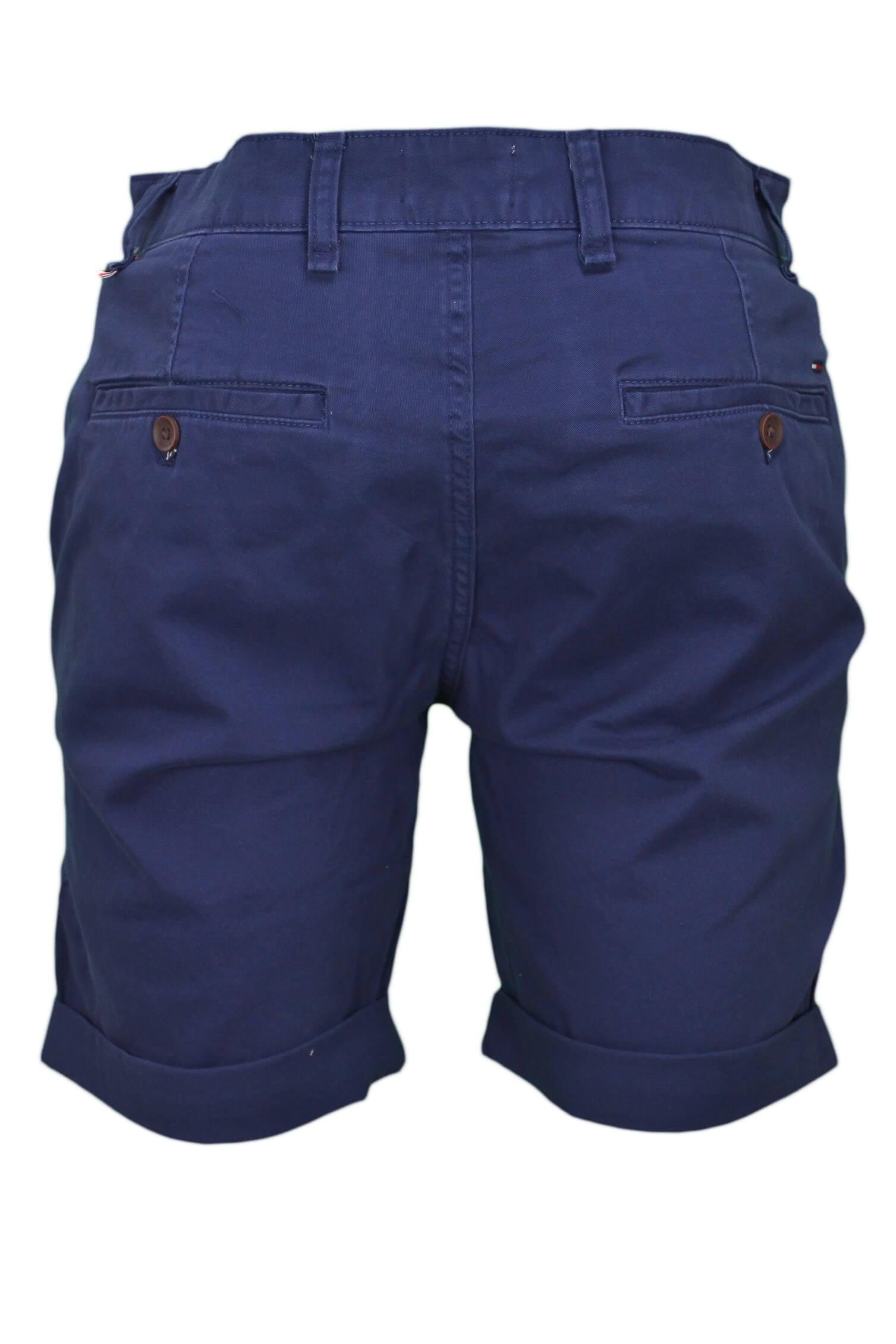 Short chino Tommy Jeans bleu marine régular pour homme - Toujours a... 1249069bada