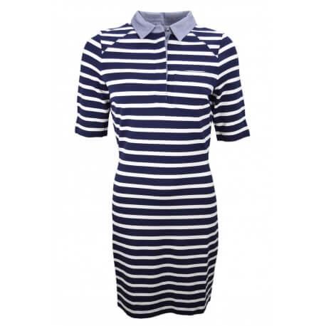 Robe marinière Tommy Hilfiger bleu marine et blanche pour femme