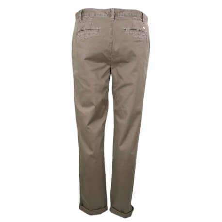Pantalon chino Tommy Hilfiger Janet marron pour femme