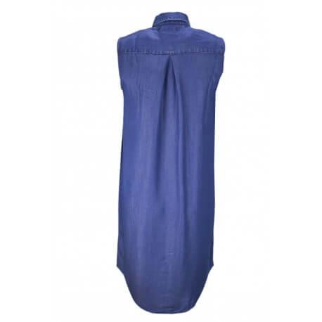 Robe Tommy Hilfiger Tammy en chambray bleu brut pour femme