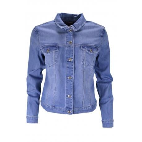 Veste en jean Tommy Hilfiger Verona bleu clair pour femme