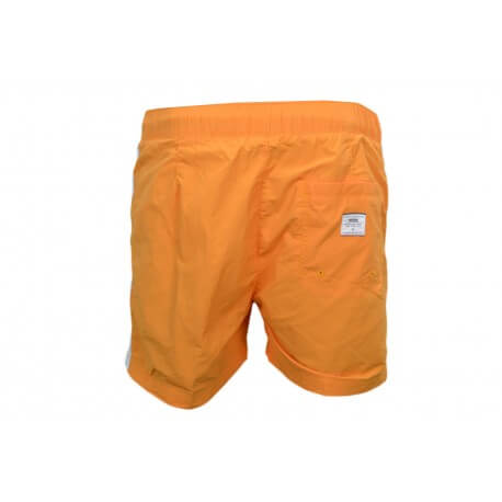 Short de bain Tommy Hilfiger Badge H orange pour homme