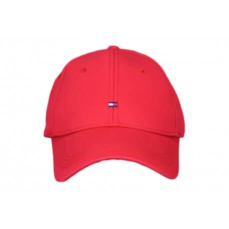Casquette Tommy Hilfiger basique rouge pour femme
