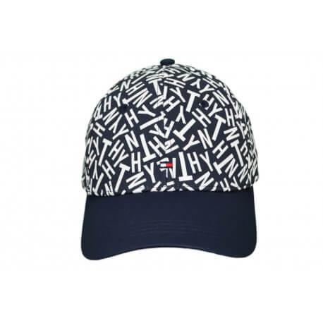Casquette Tommy Hilfiger Logo bleu marine pour femme