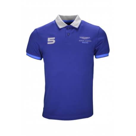 Polo Hackett Aston Martin bleu marine pour homme