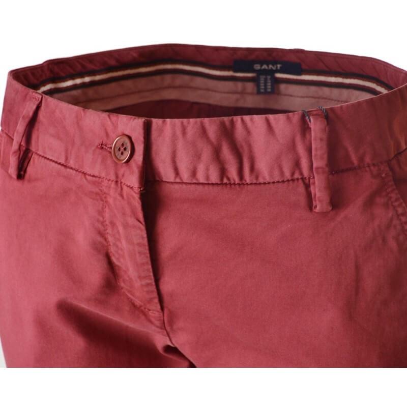 Pantalon Chino Rouge Bordeaux