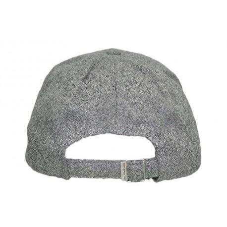 Casquette en laine Gant grise pour homme