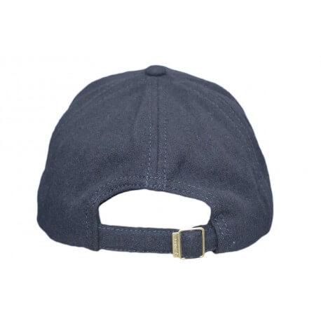 Casquette en laine Gant bleu marine pour homme