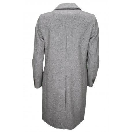 Manteau long en laine Tommy Hilfiger Carrie gris pour femme