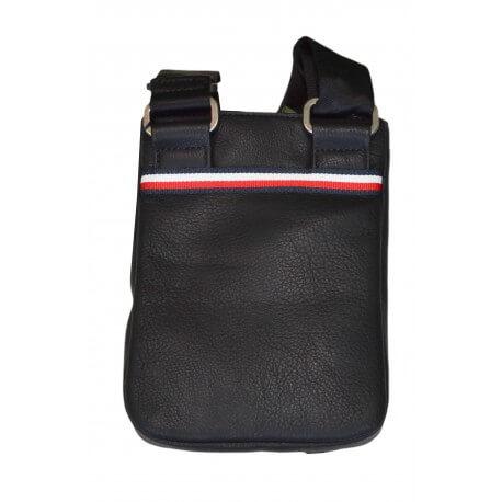 Mini sacoche bandoulière Tommy Hilfiger noire pour homme