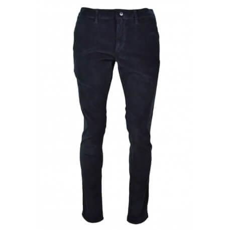Pantalon côtelé Tommy Hilfiger Dénim bleu marine pour homme