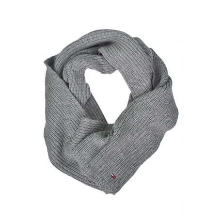 Echarpe tricotée Tommy Hilfiger Dénim grise pour homme