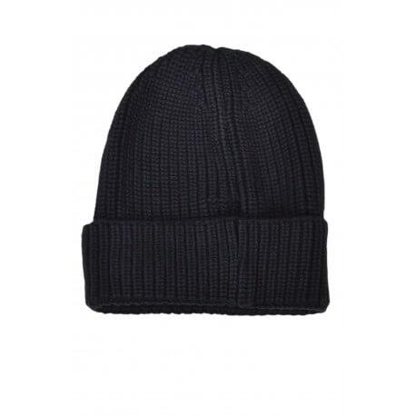 Bonnet tricoté Tommy Hilfiger Dénim bleu marine pour homme