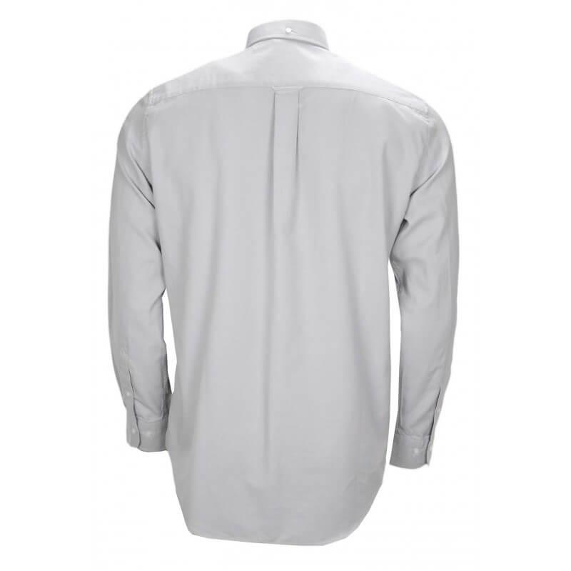 chemise gant tech prep grise pour homme toujours au meilleur prix. Black Bedroom Furniture Sets. Home Design Ideas