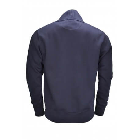 Pull col montant Gant bleu marine pour homme
