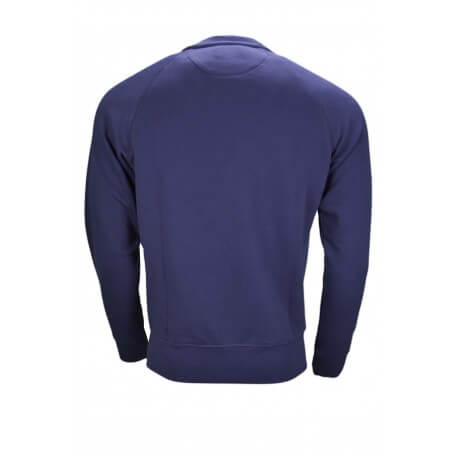 Sweat molleton Gant bleu marine pour homme