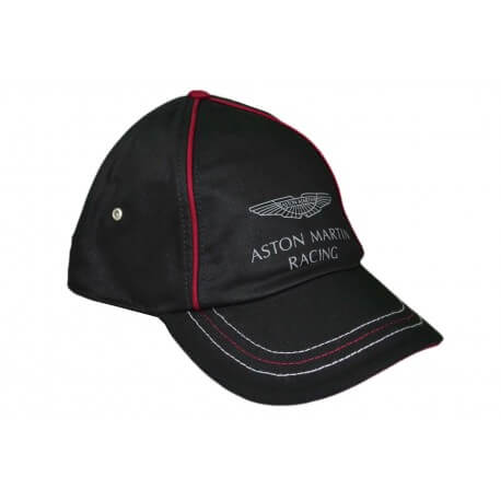 Casquette Hackett Aston Martin Racing noire pour homme