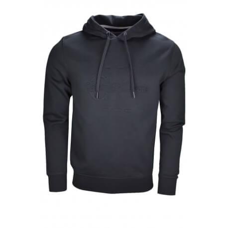 Sweat à capuche Calvin Klein noir pour homme