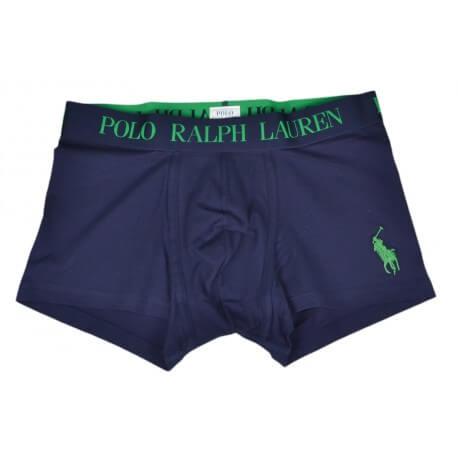 Boxer Ralph Lauren Big Poney bleu marine et vert pour homme