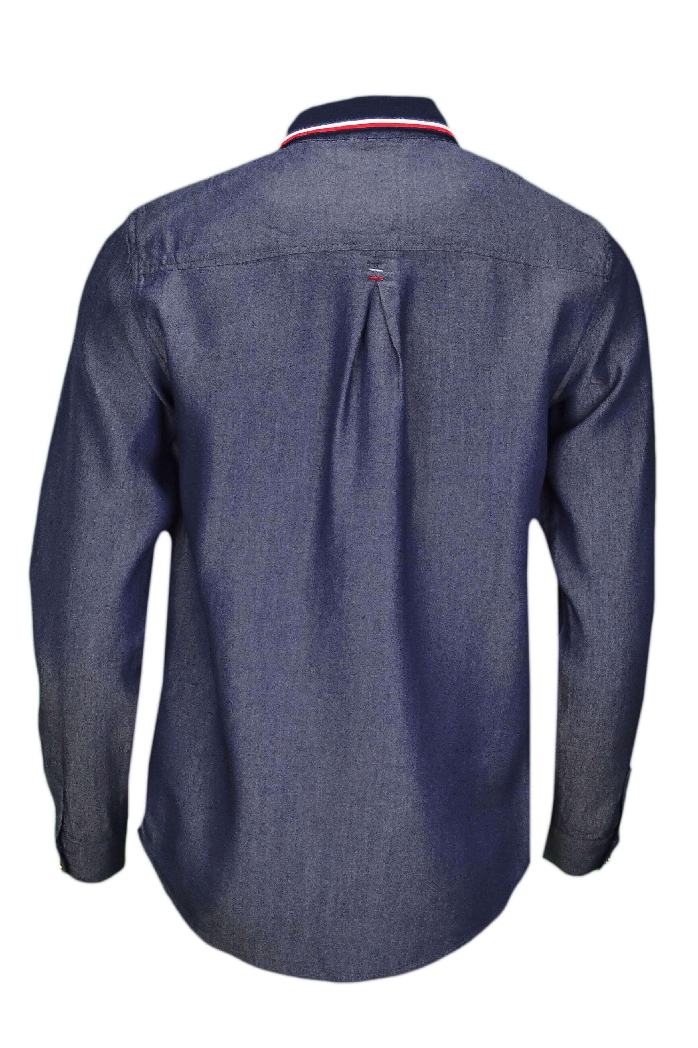 0e5fc1f09b48 Chemise Tommy Hilfiger Céline bleu jean pour femme - Toujours au me...