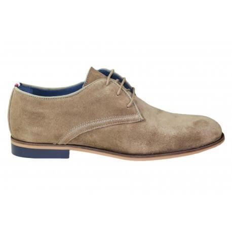 Chaussures habillées Tommy Hilfiger Dressy en suede beige pour homme
