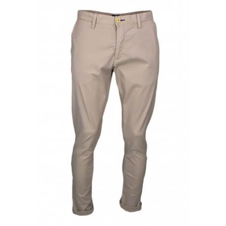 Pantalon chino Gant beige slim pour homme