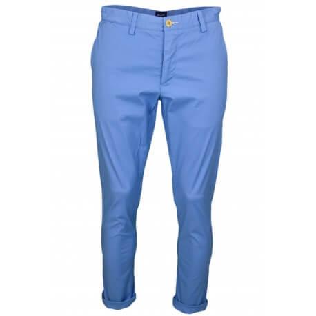 Pantalon chino Gant bleu slim pour homme