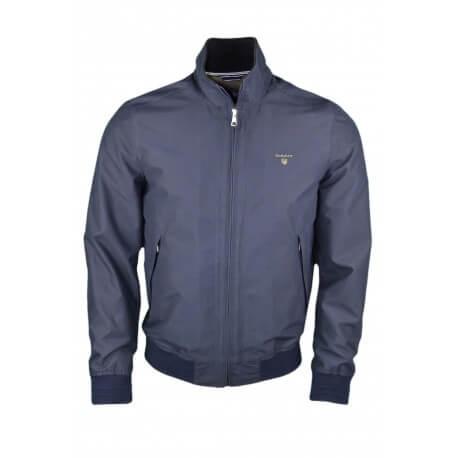 Veste Gant bleu marine pour homme