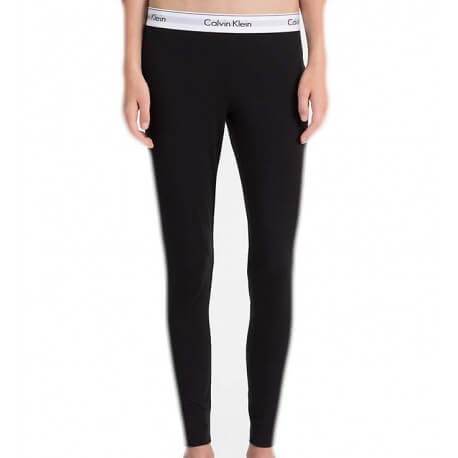 Legging Calvin Klein noir pour femme