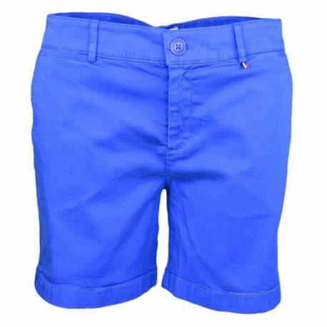 Short chino Tommy Jeans bleu France pour femme