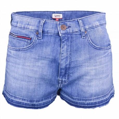 Short en jean Tommy Jeans bleu pour femme