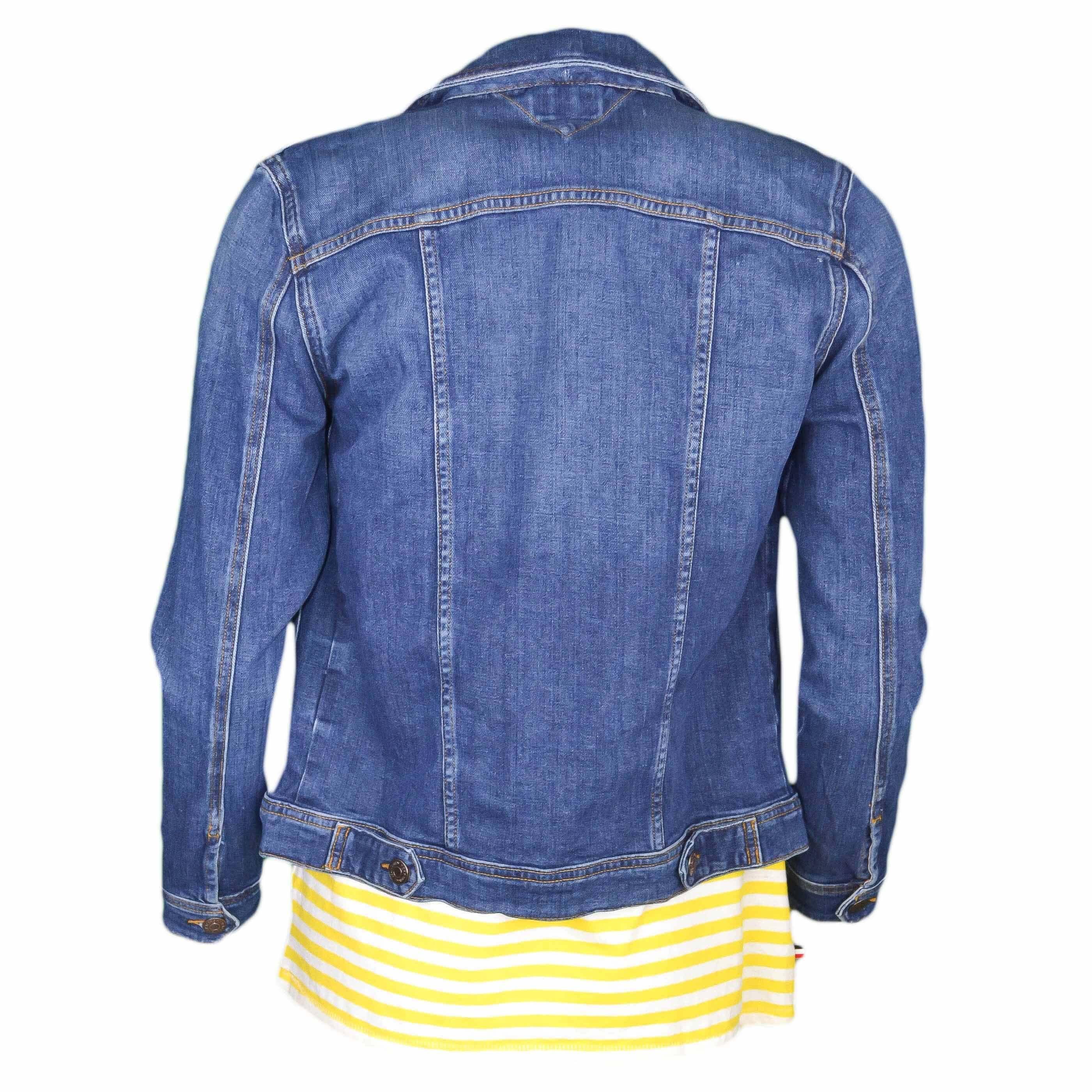 Jeans Pour Foncé Meill Veste Jean Bleu Femme Toujours En Au Tommy qHHYn1t