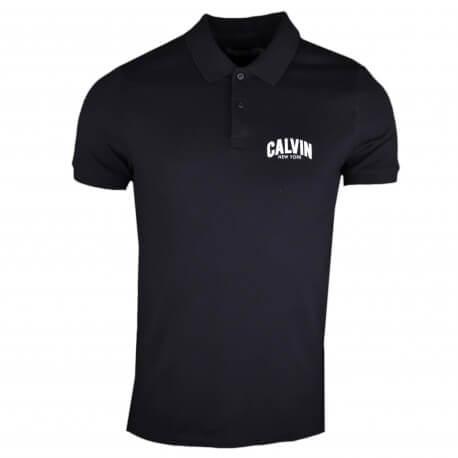 Polo Calvin Klein New York noir pour homme