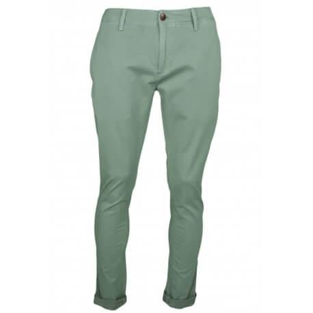 Pantalon chino Tommy Jeans vert kaki slim fit pour homme