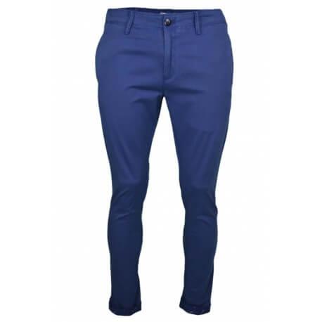 Pantalon chino Tommy Jeans bleu marine slim fit pour homme