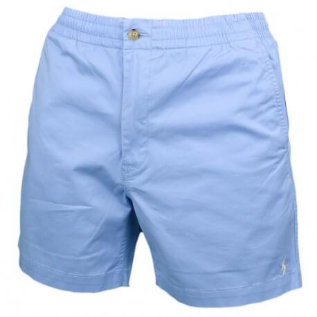 Short bermuda chino Ralph Lauren bleu ciel pour homme