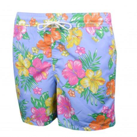 Short de bain Ralph Lauren à motif fleur multicolore pour homme