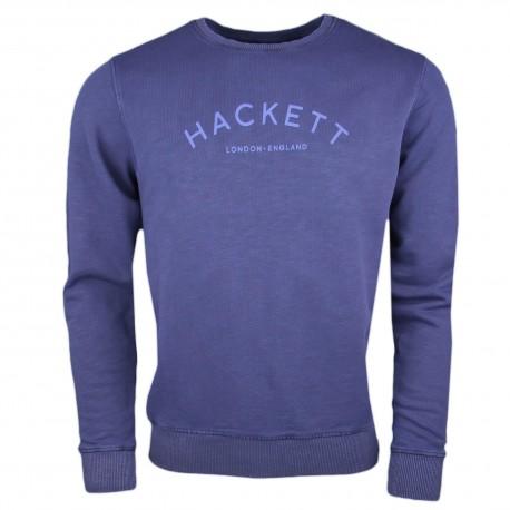 Sweat col rond Hackett bleu marine pour homme