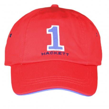 Casquette Hackett rouge et bleu pour homme