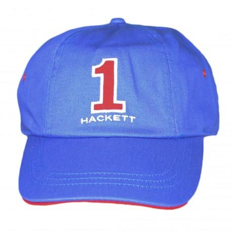 Casquette Hackett bleu et rouge pour homme