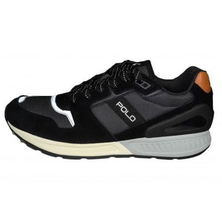 Baskets sneakers Ralph Lauren Train 100 noire pour homme