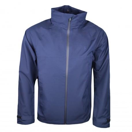 Veste imperméable Ralph Lauren bleu marine pour homme