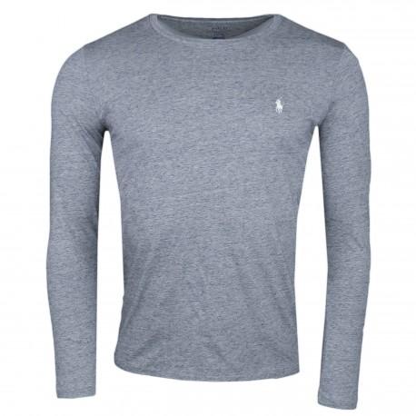 T-shirt manches longues Ralph Lauren gris pour homme