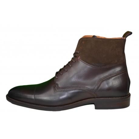 Boots montantes Tommy Hilfiger marron pour homme